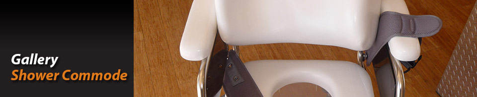 Customised commode chair gallery