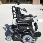 Permobil c500 stander & chin
