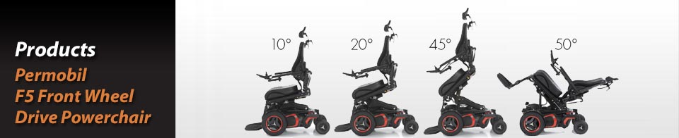 Permobil – F5 Front Wheel Drive Powerchair